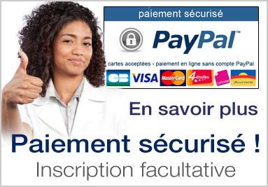 Paiement sécurisé PayPal Guyane Médical Industrie