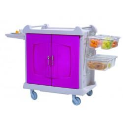 Chariot petit déjeuner mono bloc - 13005