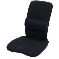 COUSSIN DORSABACK NOIR Bien assis partout, en voiture comme à la maison-1290