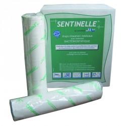 Draps d'examen extraforts pure ouate bacteriostatique 2x20g/m² - Carton de 12 rouleaux - 150 formats 50x38cm - J235LBS