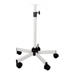 Fixations pour lampe d'examen Lesté Pied roulant télescopique 60-100 cm - PIR00666L