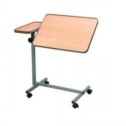 Table de lit double fonction plan de travail 61 x 38 cm Tablette 20,5 x 38 cm - AA3742