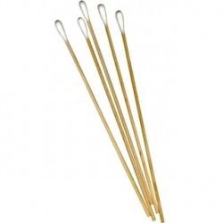 Ecouvillons Longueur 15 cm avec manche en bois  boite de 150 - 403114