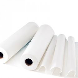 Draps d'examen pure ouate 2x17.5g/m² - Carton de 6 rouleaux - 2 plis - 30 formats 70x190cm - J285LMR