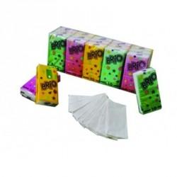 16 paquets -  15 étuis  - 10 mouchoirs pockets extra blancs 3x16gr/m² - 3plis - 21x21cm -H402LSM