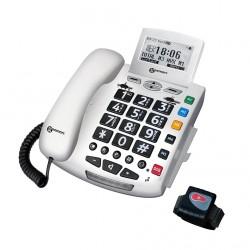 TÉLÉPHONE FILAIRE SERENITIES G. touches Large écran Compatible appareil auditif-GEE004