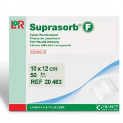 Pansement stérile film polyuréthane Suprasorb®F 10x12cm Boite de 50- 20463