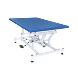 Table de Bobath électrique de couleur bleu épaisseur de 40 mm  moteur classe II - 1111/BOBA/200