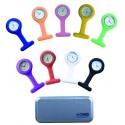 Montre d'infirmière Adaptable sur toutes les poches 9 coloris au choix - 2430040