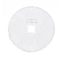 Lame pour scie à plâtre synthétique 2 diamètres au choix 50 et 65 mm - 4730051