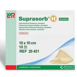 Pansement hydrocolloïde Standard Suprasorb® H 10x10cm Boite de 10 - 20431