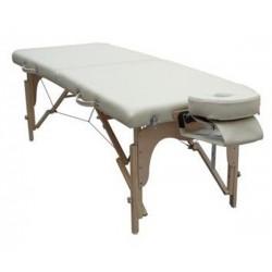 """Table de massage """"WOOD"""" pliable à hauteur variable de 60 à 79 cm - WOOD"""