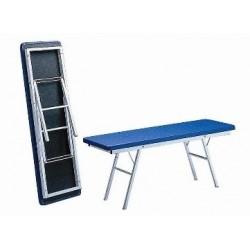 Table d'ostéopathie à hauteur variable mécanique 1 plan  largeur 570 mm - 970