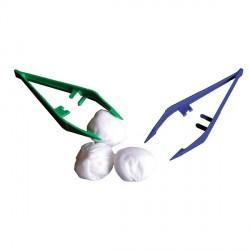 Set à Pansement Contenant Alvéole + 2 Pinces Précision +  Tampon Gaze - 103101