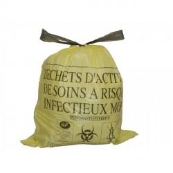 Sacs Poubelles  pour DASRI Volume 50 L Dimension  68 x 75 cm - 5003