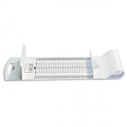 Toise matelas pédiatrique 210   Plage de mesure 10 - 99 cm, grad. 5 mm - 2101721009