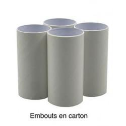 Embouts de spiro  diamètre 30 mm -  85 Embouts Carton - CC6901700