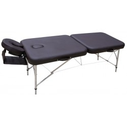 Table de massage Aluminium Hauteur variable très legere poids 12 kg - ALUMINIUM