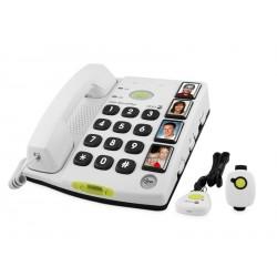 Doro Secure 347 couleur blanc alarme avec message vocal - HDSECU01W